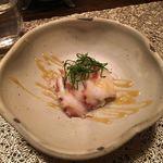 喰呑をかし - 真蛸酢味噌和え