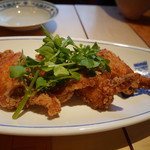 香港海鮮料理 季し菜 - 手羽先蝦醤香り揚げ
