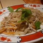 香港海鮮料理 季し菜 - 魚そうめんと春雨炒め