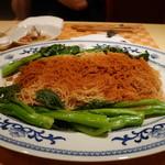 香港海鮮料理 季し菜 - 蝦子麺 油菜芯