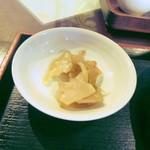 日光 翠園 - 搾菜