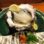 魚道 - 岩牡蠣
