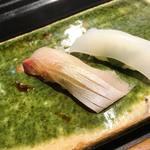 魚道 - 【握り】天然間八、障泥烏賊