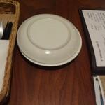 イタリア食堂 ジラソーレ - テーブル