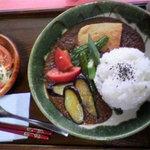 善司郎(食堂部) - 夏野菜カレー