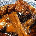 絶景の宿 龍峡亭 - 料理写真:あちき的オススメ 強肴 信州鯉美味煮 割り牛蒡添え