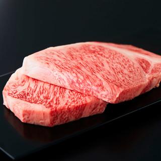 """濃厚な肉の旨味が口いっぱいに広がる、極上の""""山形牛"""""""