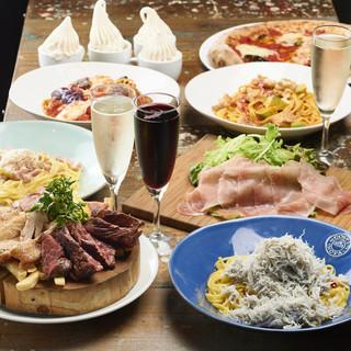 お好きな食べ物を誰にも気兼ねなく食せるタパス(小皿)料理♪♪