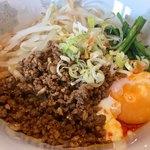 天翔 - 料理写真:ランチ汁なし担々麺小ライス付き850円