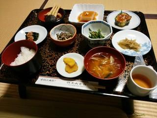 羽黒山 斎館 - 精進料理御膳(7品)