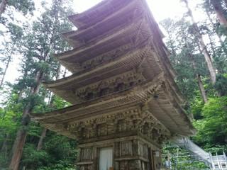 二の坂茶屋 - 「羽黒山五重塔」