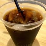 飯田橋 喝采 - アイスコーヒー付いてました!