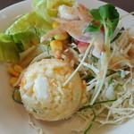 アン・シヤーリー・ハウス - 彩りが綺麗なサラダでしたよ
