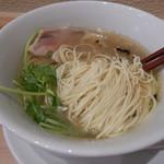 中華蕎麦 あさつゆ - 麺