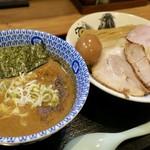 日本の中華そば富田 - 「特製濃厚つけ麺」(1180円)