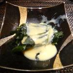 Yamachou - 突出しワカメの酢味噌和え