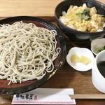 手仕事屋 - ミニ親子丼セット(丼大 蕎麦大盛り) 1,700円