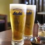 ロッタパラソル安来晃  - 生ビール