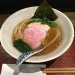 メンドコロ キナリ - 料理写真:Ra-men 白醤油('18/06/18)