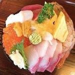 伊澤家 - 料理写真:ドーム盛り(上から)