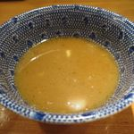 めん徳 二代目 つじ田 - スープ割
