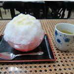 初音茶屋 - 氷イチゴミルク(450円)