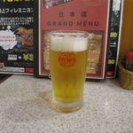 ステーキハウス88 - オリオン生ビール(540円)