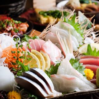 ☆生牡蠣付き☆鮮魚盛り合わせ