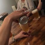 87807640 - 友人のビールを注ぐ優しい美熟女(*゚▽゚*)
