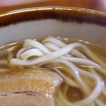 琉心そば - 麺