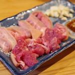 山羊料理さかえ - 料理写真:山羊さしみ