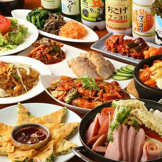 舌にも体にも良い韓国料理の数々