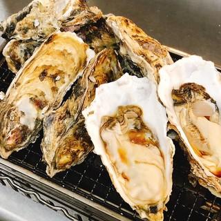 夏の味覚!焼き牡蠣を大特価で。
