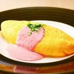 手作り料理 大井町の名物家 - ふわっフワした明太チーズオムレツは当店のオススメです。