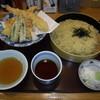 野のこ - 料理写真:大海老天ざる中華