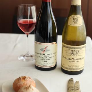 「黄金の丘」と呼ばれるワインの名産地ボーヌを中心にご提供
