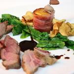 ル ベナトン - 猪もも肉のロースト