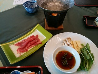 大観荘 せなみの湯 - ひとり鍋