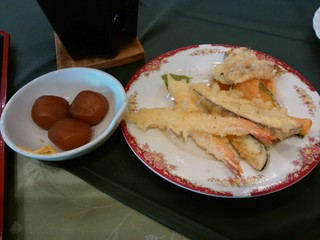 大観荘 せなみの湯 - 天ぷら・こんにゃく