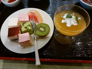 大観荘 せなみの湯 - デザート