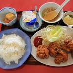 紅蘭 - 料理写真:からあげ定食 880円