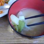 さぼーる - 負だくさんの味噌汁