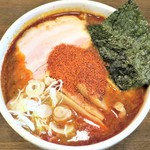麺処 井の庄 - 辛辛魚らーめん(辛め)