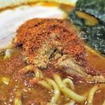 麺処 井の庄 - 中身はほとんど魚粉