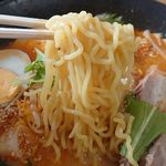 産直 大地 - 麺アップ