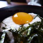 手打ちうどんZ - 鳥取のヤマトイモに、玉子、ポン!
