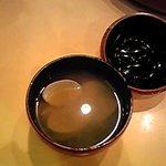 すし処わさび亭 - あさり汁