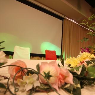 結婚式の1.5次会、2次会の利用可能。笑顔を作るサポートを全力で致します。