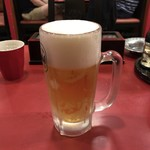 中華料理 大栄飯店 - 生ビール(中)♪
