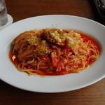 カフェ88 - チキングリル玉ねぎのトマトソース